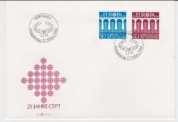 Liechtenstein 1984 FDC Europa CEPT (G103-31) - Europa-CEPT