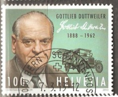 Switzerland: Single Used CTO Stamp, Person, 2013, Mi#2284, - Switzerland