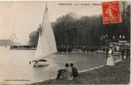 Versailles - L'embarcadère - Voilier Sur Le Canal - édit Galeries Modernes N°122 - Versailles