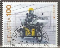 Switzerland: 1 Used CTO Stamp, EUROPA, 2013, Mi#2293, - Suisse
