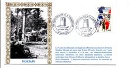 60 ANS LIBERATION DE MORTAIN MANCHE - Guerre Mondiale (Seconde)
