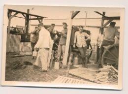 WWII  FOTO 9 X 6 CM -  DUITSE SOLDATEN - ( J-G) KOMP.INF.- REGT.11  ZIE 2 SCANS - Guerre 1939-45
