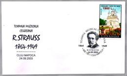 Otoño Musical. R. STRAUSS (1864-1949). Cluj Napoca 2003 - Música
