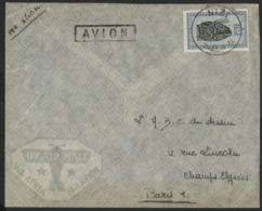 """CONGO BELGE """"NIZI"""" Obl. Cachet à Date Sur N° 291B. Sur Enveloppe Par Avion Pour La France. - 1947-60: Storia Postale"""