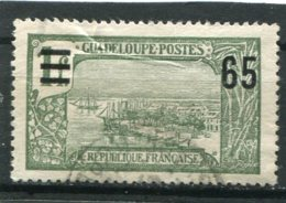 GUADELOUPE  N°  90   (Y&T)  (Oblitéré) - Guadeloupe (1884-1947)