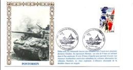 60 ANS LIBERATION DE PONTORSON MANCHE - Guerre Mondiale (Seconde)