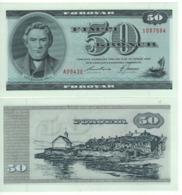 FAEROER ISLANDS 50 Kronur  P20d 1994 UNC - Faroe Islands
