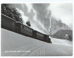 Ferrovia Della Val Gardena Grödnerbahn Treno A Vapore Chemin De Fer Train Eisenbahn Dampf Trentino / Südtirol - Bolzano (Bozen)