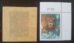 Österreich / Austria 2005; Animals & Fauna; Lion; Scarce Self-Adhesive Stamp; MNH / Neuf** / Postfrisch!! - 1945-.... 2nd Republic