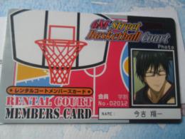 Baloncesto Basket Ball  Card - Altri