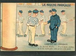 CPA - Illustration - MARINE FRANCAISE - Corvée De Charbon - Warships