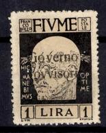 Fiume YT N° 141 Neuf *. B/TB. A Saisir! - 8. WW I Occupation