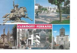 63 CLERMONT FERRAND Cpm Multivues - Clermont Ferrand