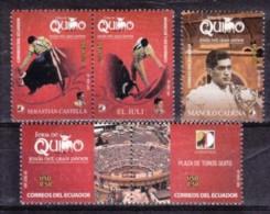 2006 - EQUADOR - LA CORRIDA - Serie Nuova Con Gomma Integra - Ecuador