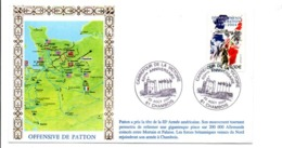 60 ANS LIBERATION CARREFOUR DE LA VICTOIRE CHAMBOIS ORNE - Guerre Mondiale (Seconde)