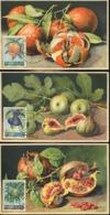 47885 Liban, Lebanon, 3 Maximum Showing Pomegranate Granatapfel Figs Feigen Oranges Orangen - Obst & Früchte