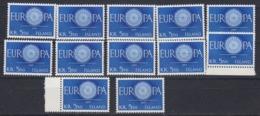 Europa Cept 1960 Iceland 5.50Kr 1v (12x) (44929) - 1960