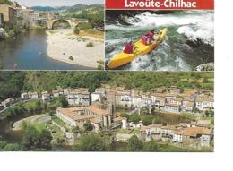 43 LAVOÛTE CHILHAC Cpm Multivues - Frankreich