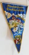 Liechtenstein)  Fanion Touristique FÜRSTENTUM  Liechtenstein - Liechtenstein