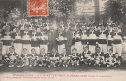 CPA (40) MORCENX Club Athlétique Morcennais Section De Gymnastique 1913 Sport Gymnaste (2 Scans) - Morcenx