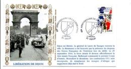 60 ANS LIBERATION DE DIJON - Guerre Mondiale (Seconde)
