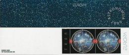 """CROACIA / CROATIA /HRVATSKA - EUROPA 2009  - TEMA  """"ASTRONOMIA"""" - CARNET Con 2 SERIES De 2 V.  -DENTADA - Europa-CEPT"""