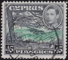 Cyprus    .    SG   .    161        .     O   .   Cancelled .   /   .   Gebruikt - Cyprus (...-1960)