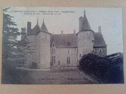 44  ORVAULT   CHATEAU    DE LA  TOUR  FACADE  NORD - Orvault
