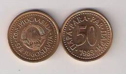 Yugoslavia 50 Para 1983. High Grade KM#85 - Joegoslavië