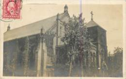 USA - Vintage Real Photo Postcard From Philadelphia In 1910 - Church - Philadelphia