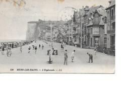 80 MERS LES BAINS Cpa L'Esplanade 126 LL - Mers Les Bains