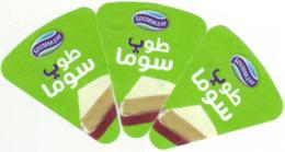 """Algérie - 3 étiquettes De Fromage Fondu """"Top-Souma"""""""". - Fromage"""
