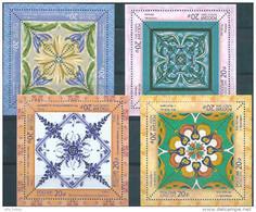 Russia, 2015, National Art, Unusuall Printing, 4 S/s, 4 Blocks - 1992-.... Federation