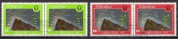 Gibraltar Used Set In Pairs - Christmas