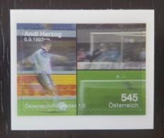 Österreich / Austria 2008; Scarce 3D World Soccer Cup Self-Adhesive Stamp; MNH / Neuf** / Postfrisch!! - 1945-.... 2nd Republic