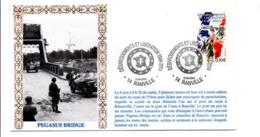 60 ANS DEBARQUEMENTS ET LIBERATION RANVILLE CALVADOS - Guerre Mondiale (Seconde)