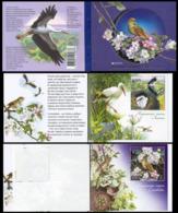 2019Ukraine 1798-99/MH18Europe CEPT / Birds - 2019