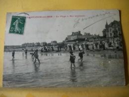 50 7303 CPA 1913 - 50 SAINT PAIR SUR MER. LA PLAGE A MER MONTANTE. EDIT. J. PUEL - ANIMATION - Saint Pair Sur Mer