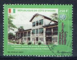 Ivory Coast, 250f., Premier Bureau De Poste De Grand-Bassam, UPU, 2015, VFU - Costa D'Avorio (1960-...)