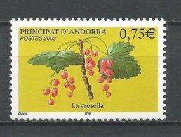 ANDORRE ANDORRA 2003 N°585 NEUF** NMH - Frans-Andorra