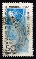 Brasilien 1967, Michel # 1128 O World Meteorology Day - Umweltschutz Und Klima
