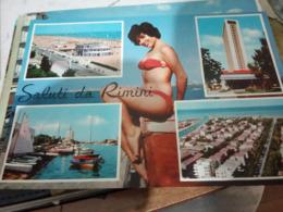 RIMINI RAGAZZA PIN UP  VEDUTE    N1965  HF789 - Rimini