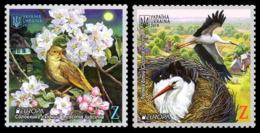 2019Ukraine 1796-97Europe CEPT / Birds - 2019