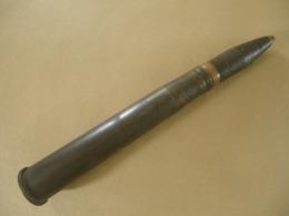 Obus De 4 Cm FLAK Allemand 1942 Neutralisé - Equipo