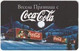 BULGARIA A-512 Chip Mobika - Advertising, Drink, Coca Cola - Used - Bulgarien