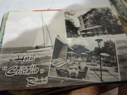 RIMINI PENSIONE  HOTEL CRISTALLO VEDUTE    N1960  HF791 - Rimini