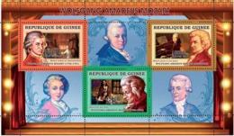 Guinea 2006 MNH -  W.A.Mozart - YT 2694-2696, Mi 4275-4277 - Guinea (1958-...)