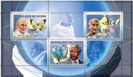 Guinea 2006 MNH - Humanists - YT 2697-2699, Mi 4263-4265 - Guinea (1958-...)