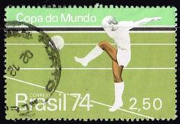 Brasilien 1974, Michel # 1440 O  Football World Cup: Germany - Fußball-Weltmeisterschaft
