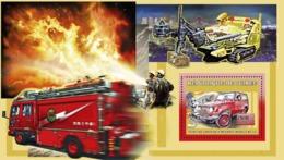 Guinea 2006 MNH - Vehicules Pompiers Japonais - Modele BJ 73 - YT 391, Mi 4453/BL1067 - Guinea (1958-...)